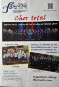 Gastauftritt zum 65. Geburtstag des Silcher-Chors